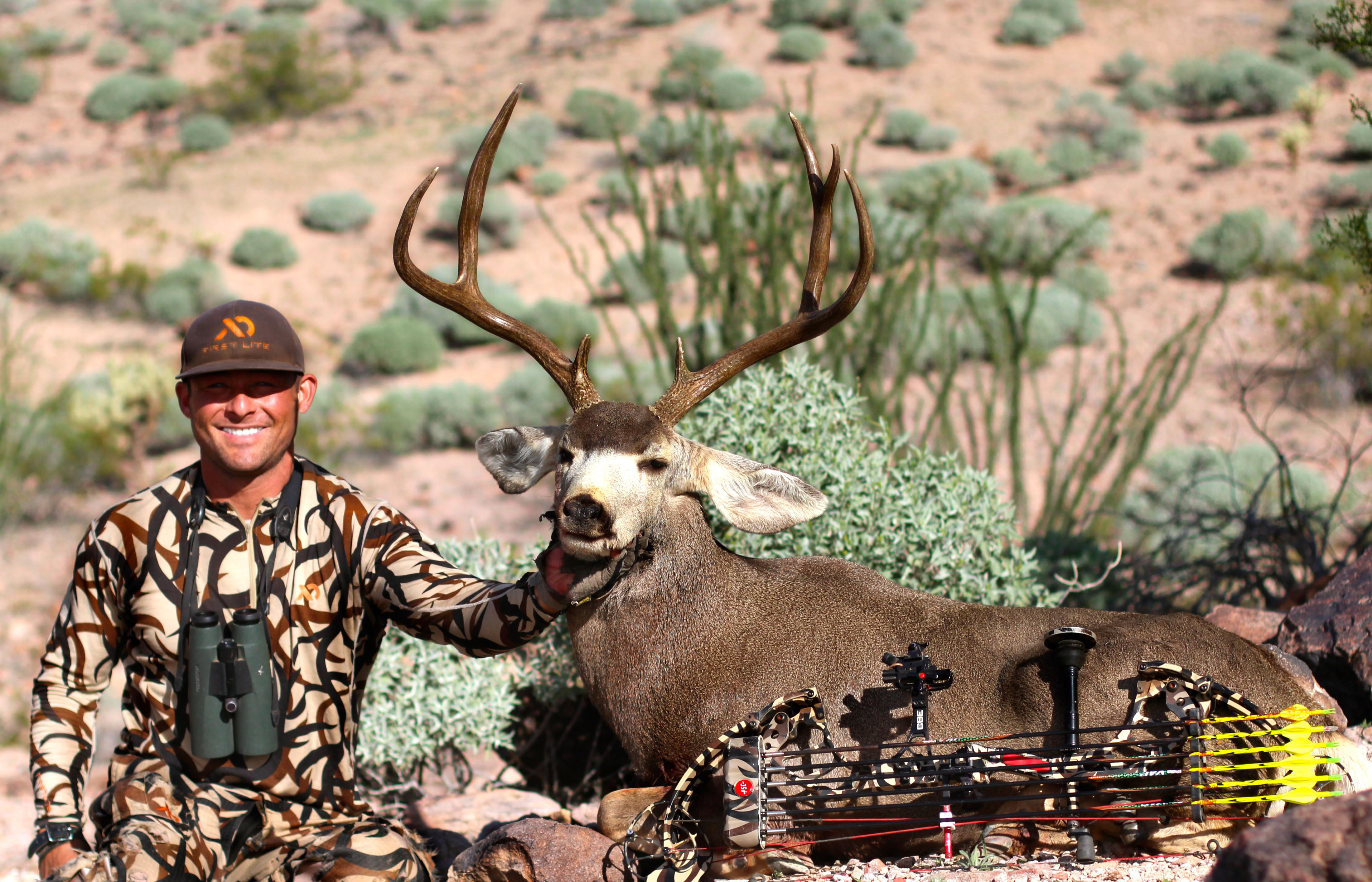 ZAC GRIFFITH ARIZONA ARCHERY DESERT MULE DEER