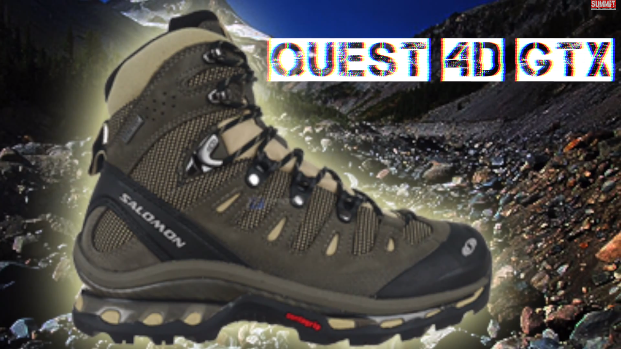 ZAC GRIFFITH SALOMON QUEST 4D GTX