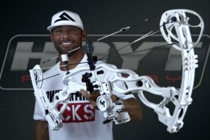 ZAC GRIFFITH HOYT CARBON SPYDER WHITE-OUT BOW