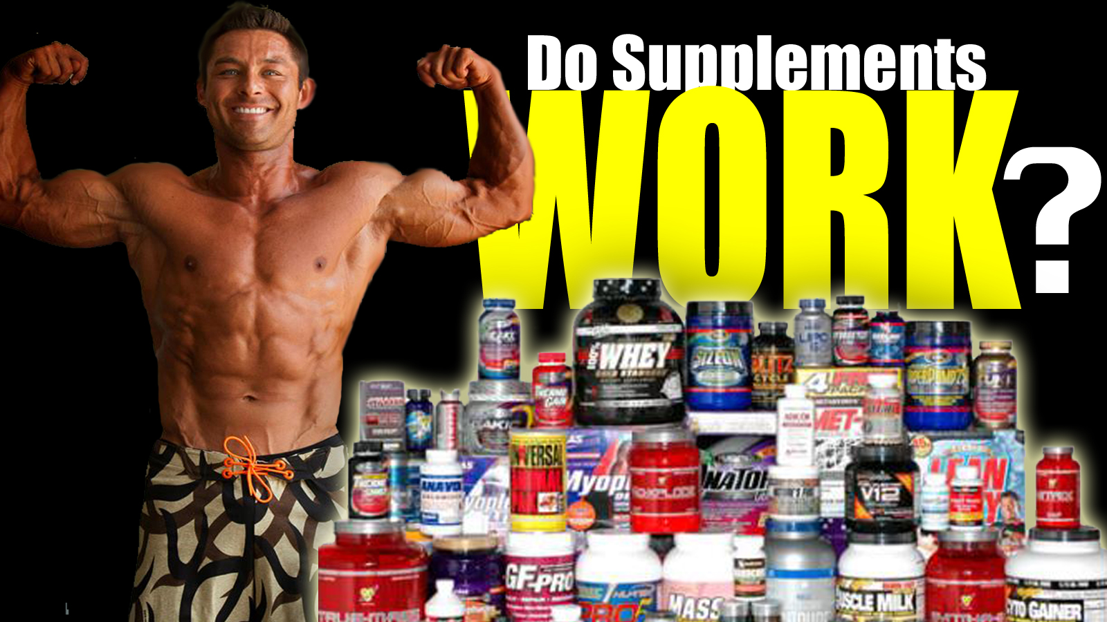 ZAC GRIFFITH DO SUPPLEMENTS REALLY WORK?