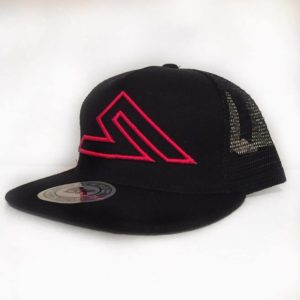 SUMMIT NET-BACK BLACK/RED