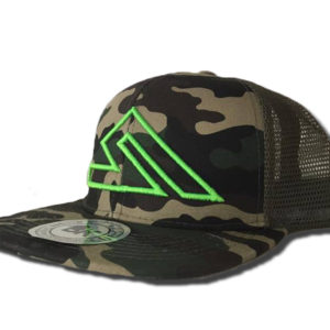 SUMMIT SNAPBACK CAMO-GREEN