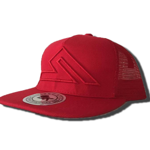 SUMMIT SNAPBACK RED-RED