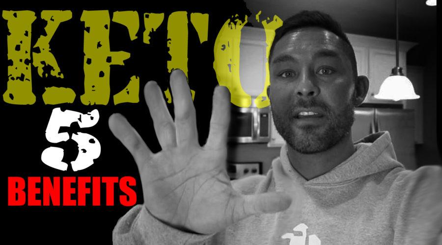 5 BENEFITS OF KETO DIET