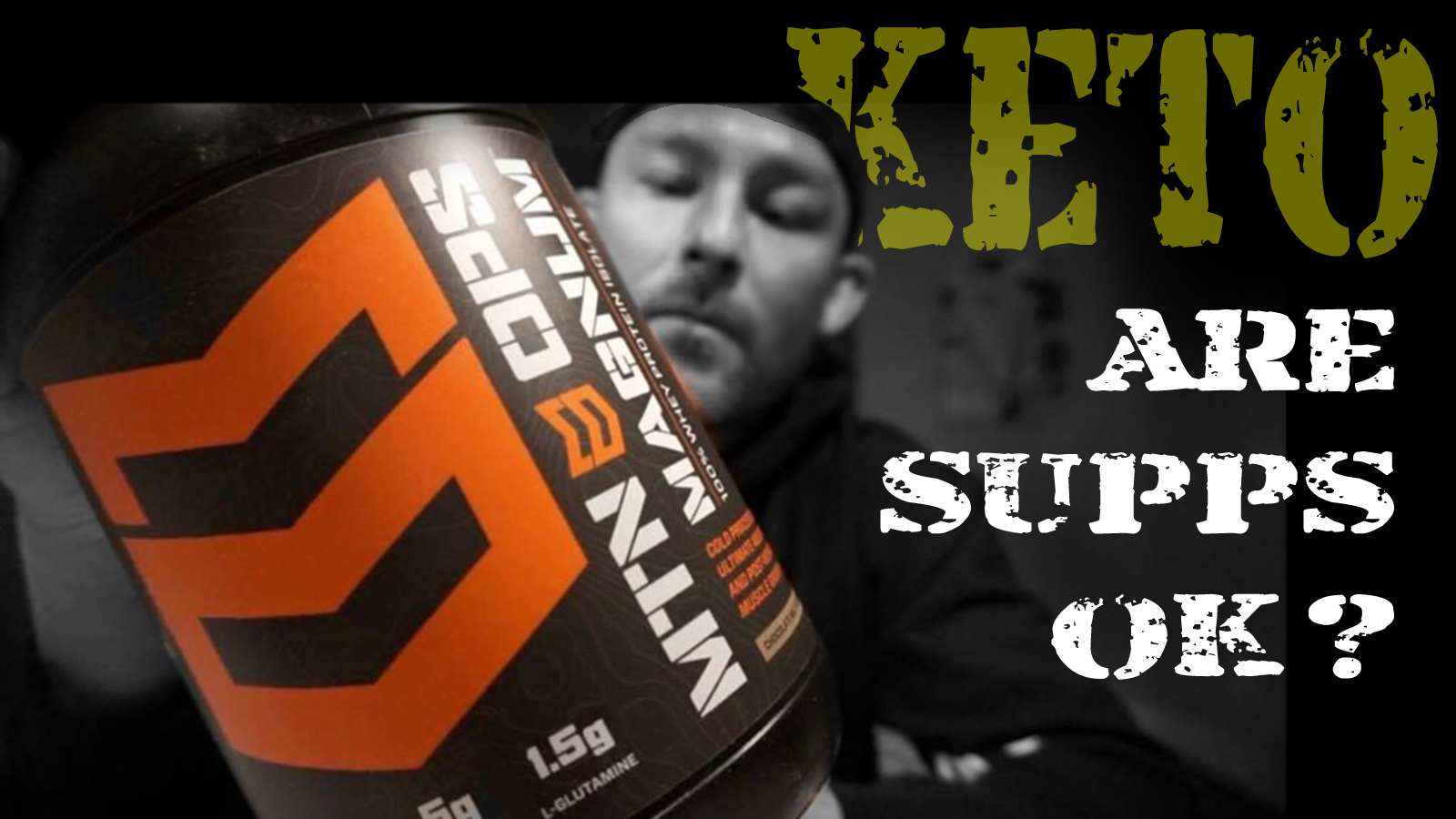SUPPS AND KETO ZAC GRIFFITH