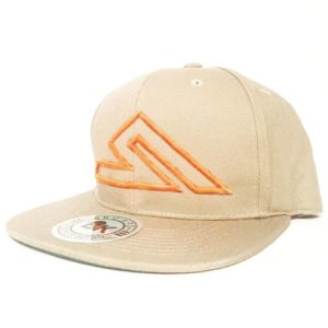 SUMMIT SNAP-BACK TAN/ORANGE