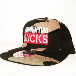 BOWHUNTING SUCKS SNAP-BACK CAMO