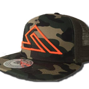 SUMMIT SNAPBACK CAMO-ORANGE