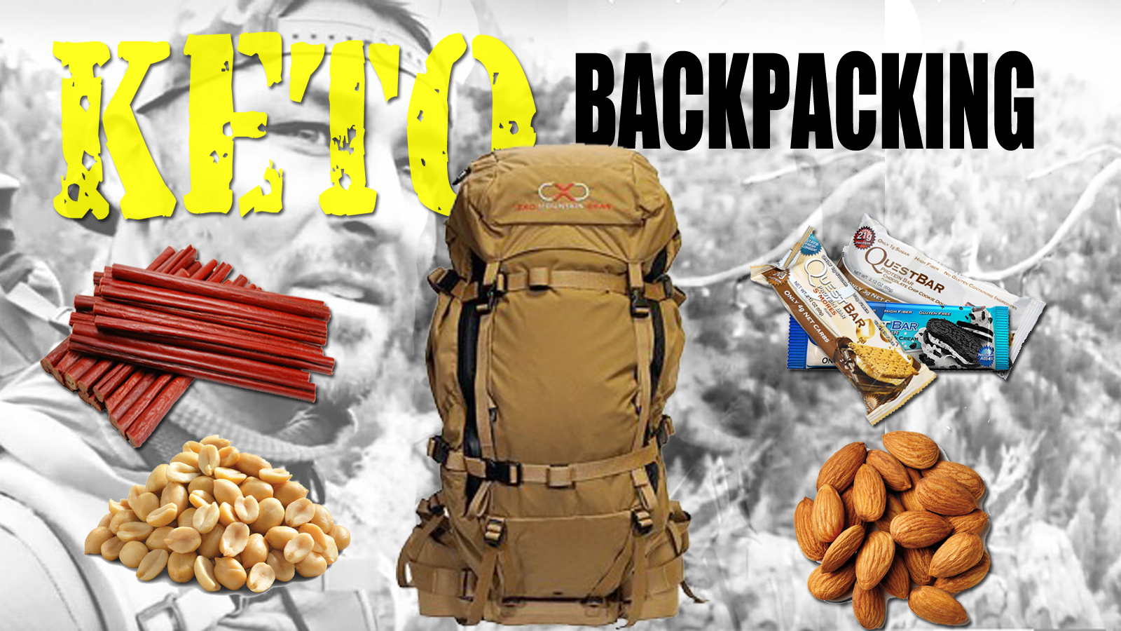 KETO BACK PACK