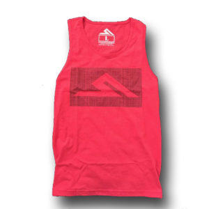 RED HASHTAG TANK