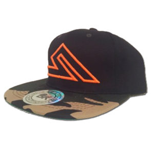 SUMMIT SNAP-BACK BLACK/CAMO/ORANGE