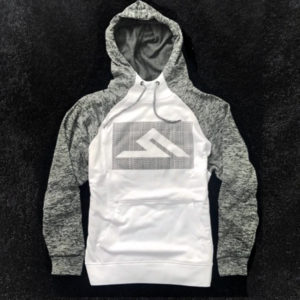 #HASHTAG HOODY WHITE/GREY