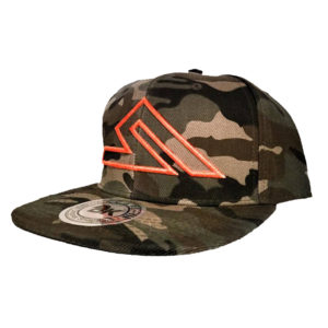 SUMMIT SNAP-BACK CAMO/ORANGE