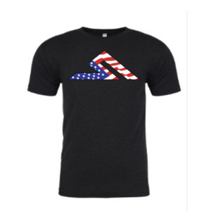 #MERICA SUMMIT TEE BLACK