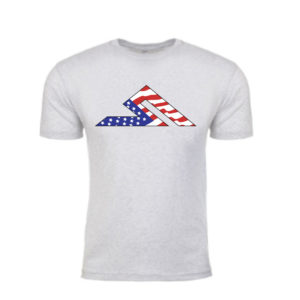 #MERICA SUMMIT TEE HEATHER GREY