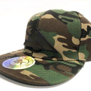 b45d60dd3ff3e SUMMIT LEATHER PATCH SNAPBACK CAMO DARK BROWN · HATS