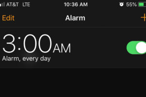 WHY I WAKE UP EVERY DAY AT 3:00 AM